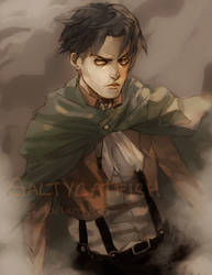 SNK: Levi by saltycatfish