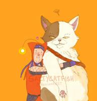 SH3: HUGS by saltycatfish