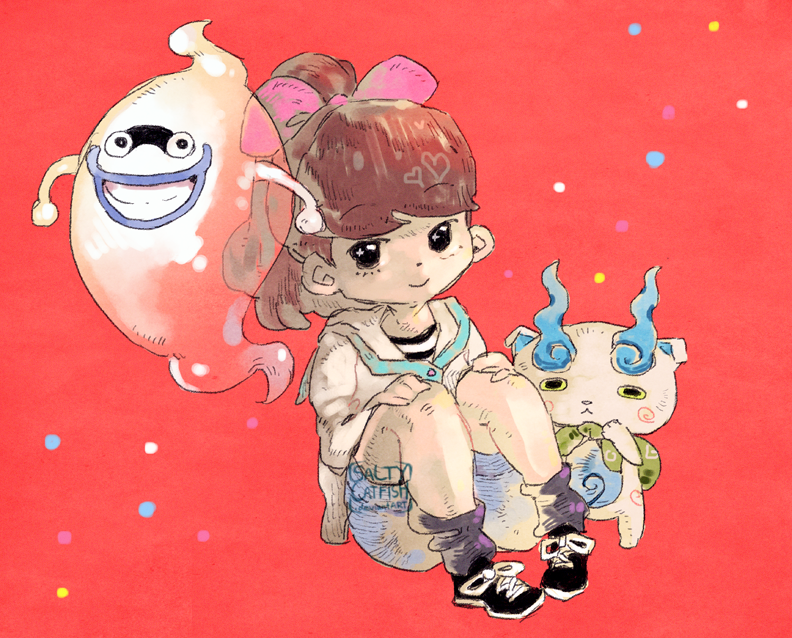 YOKAI WATCH! by saltycatfish