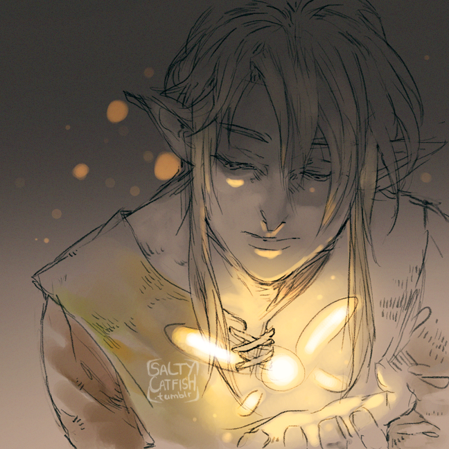 LoZ: Fairy by saltycatfish