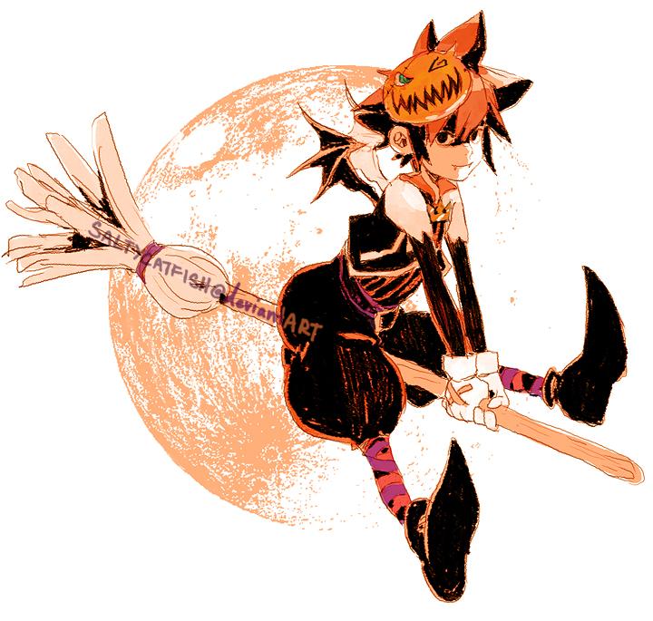 KH: Halloween Town Sora by saltycatfish on DeviantArt