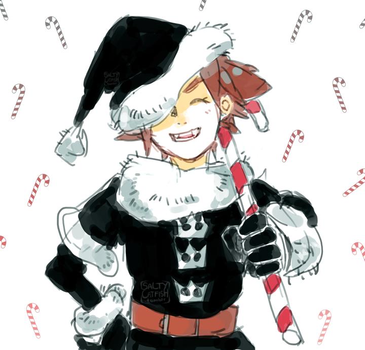 KH: Santa Sora by saltycatfish