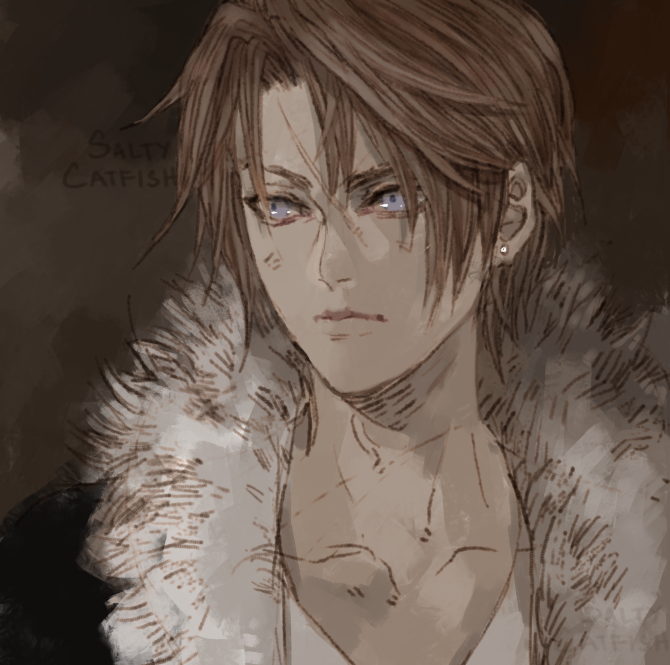 FFVIII: Squall by saltycatfish