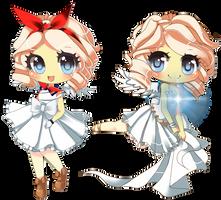 Argenti Twins by Aliyune