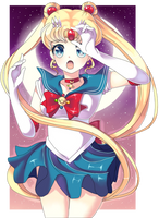 In The Name of the Moon...! [Sailor Moon] by Aliyune