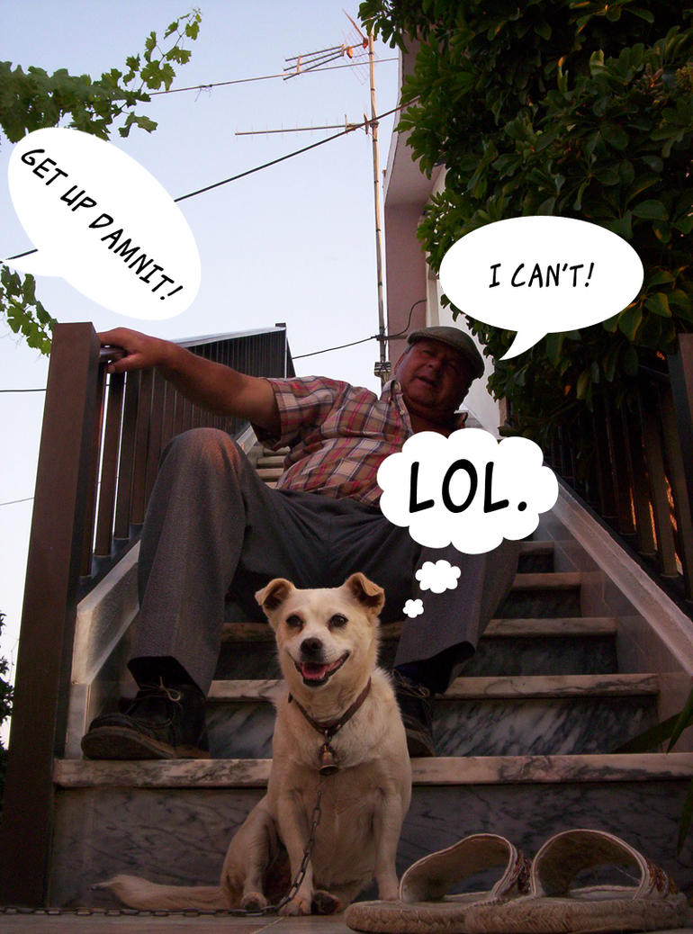 The grinning dog: RELOL'DED by Lanth
