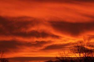 Bloddy Sunrise by ProdigalComingHome