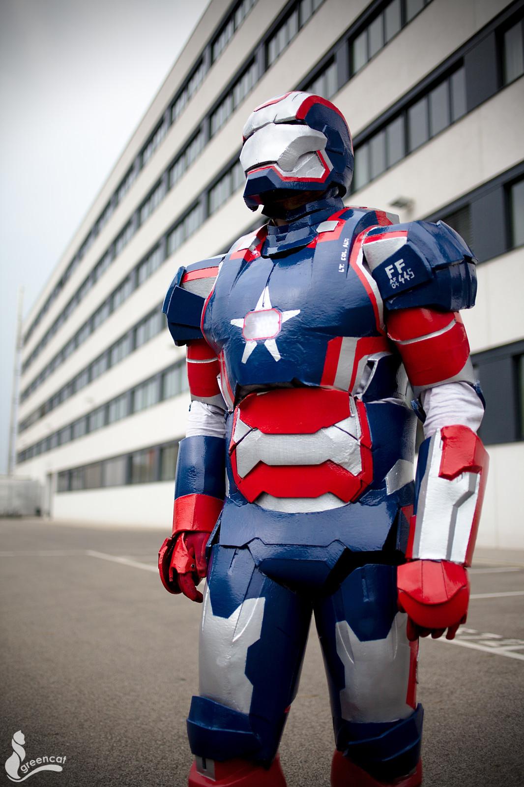 Iron Patriot by greengreencat