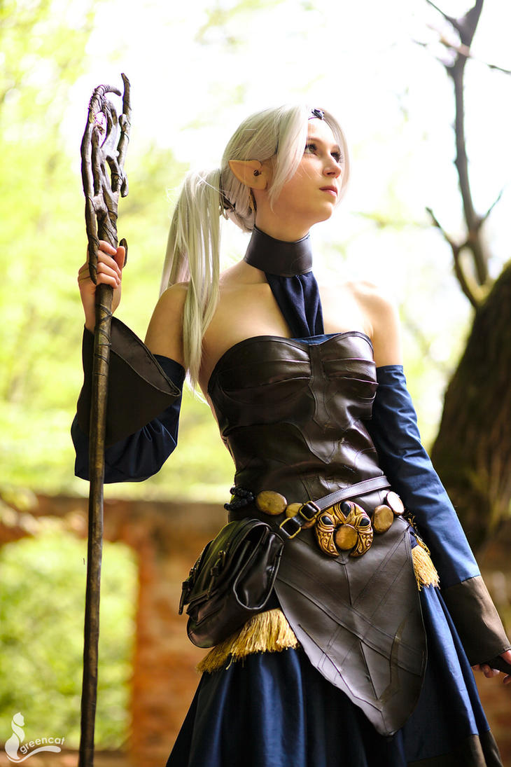 Mage ~ Dragon Age by greengreencat