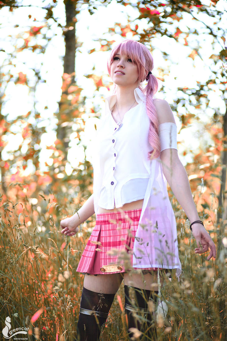 Serah - Final Fantasy by greengreencat