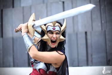 Wonder Woman by greengreencat