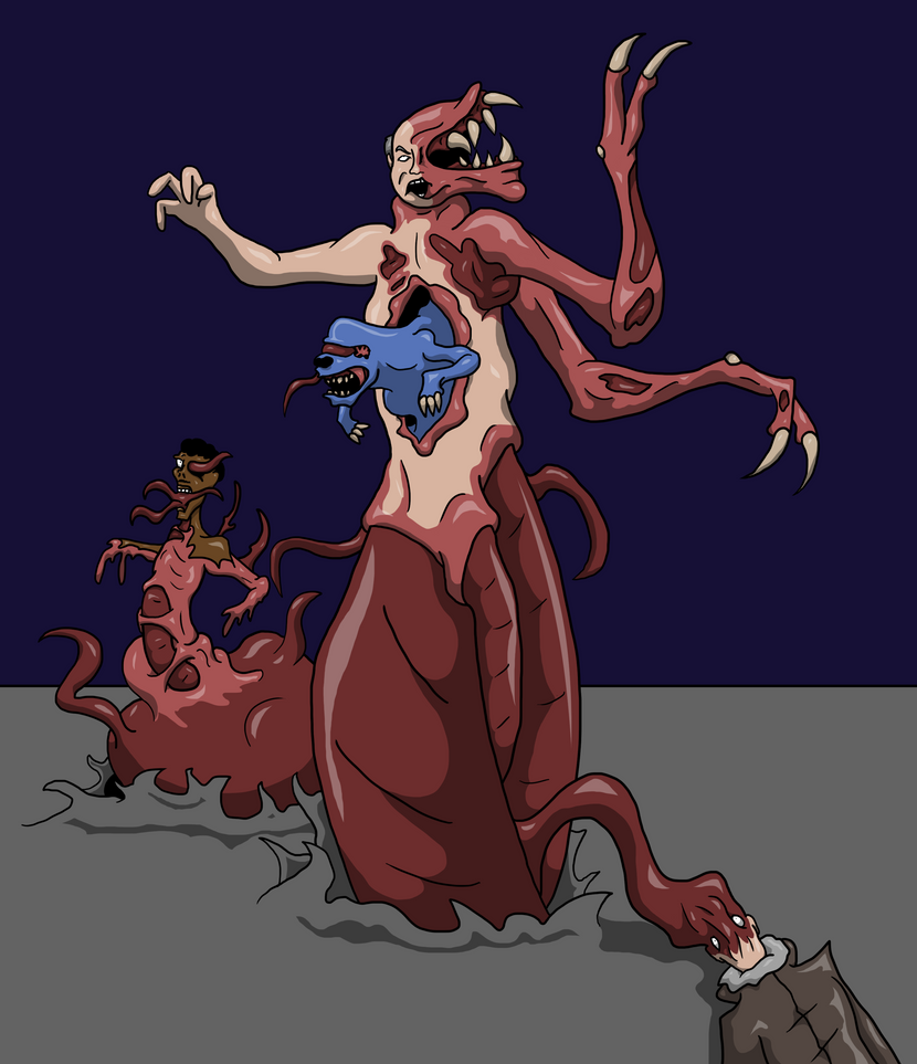 Blair-Thing by AraghenXD The Thing 1982 Blair Monster