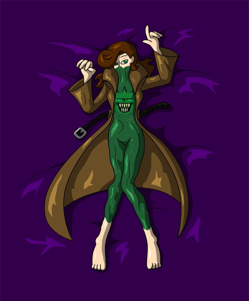 Fly-Girl Vs the Venus Flytrap by AraghenXD on DeviantArt