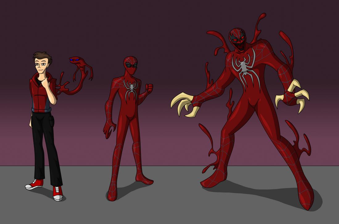 The Crimson Spider by AraghenXD