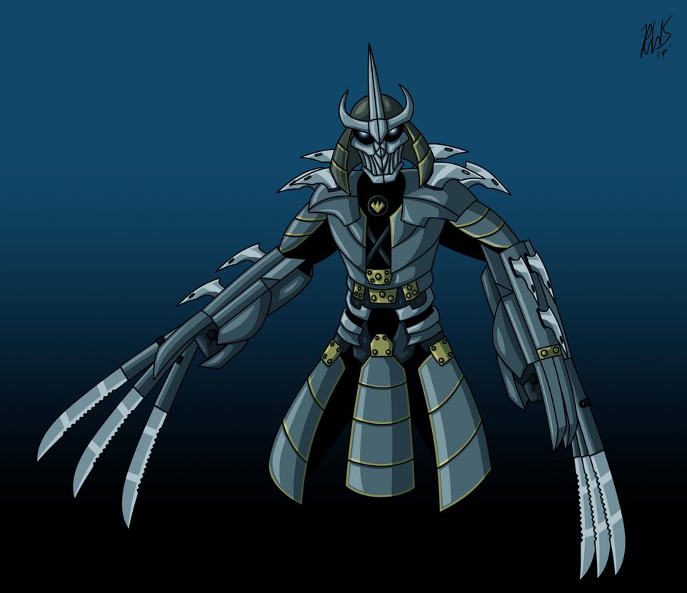 the shredder 2014 by araghenxd on deviantart