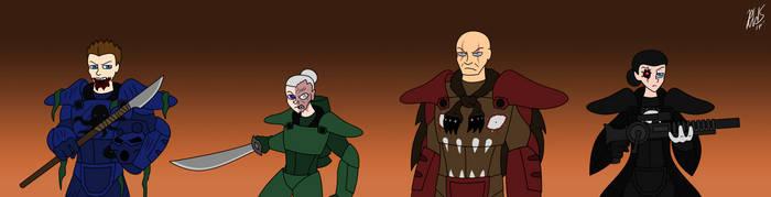 Robotnik14's Fallout Crew by AraghenXD