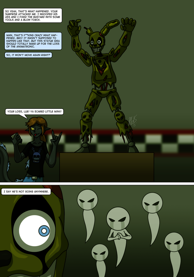 FNAF - George's First Night Page 3 by AraghenXD