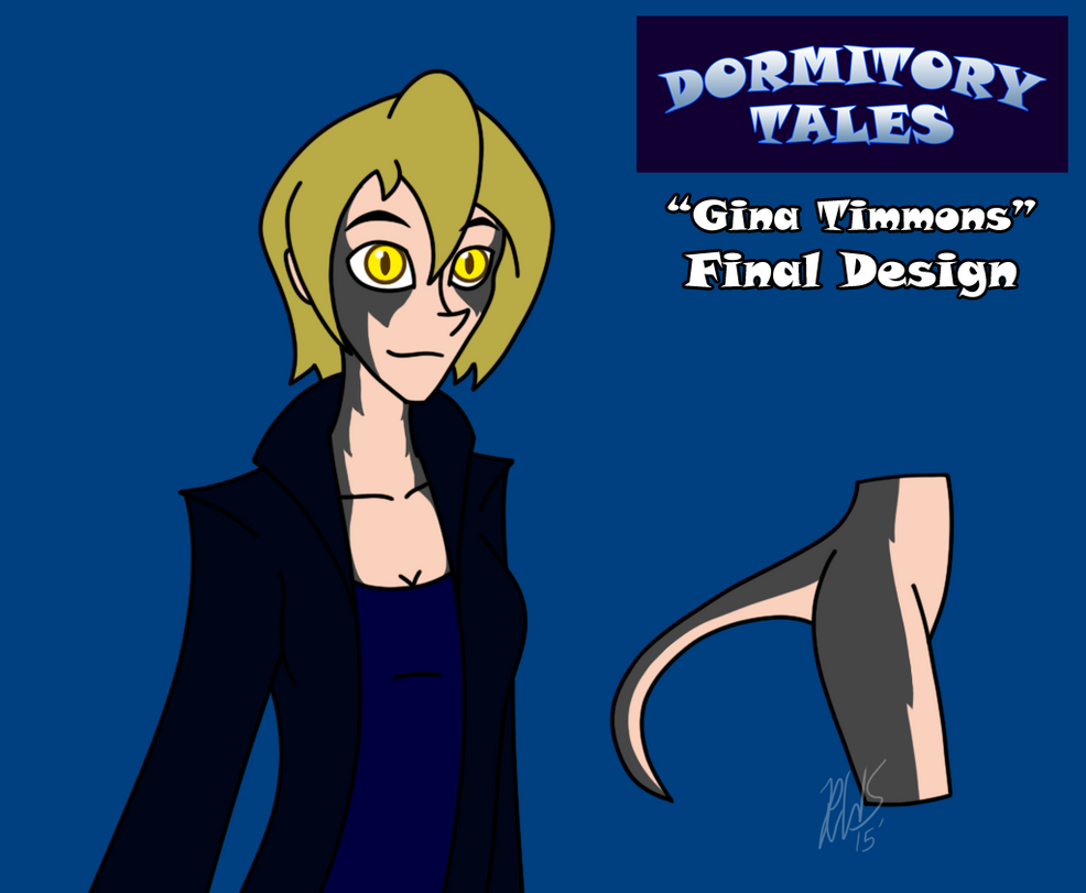 Dormitory Tales - Gina Final Design by AraghenXD