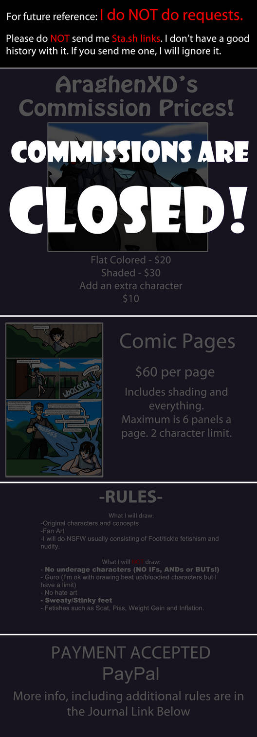 Commission Prices -CLOSED-