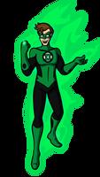 Green Lantern Hal Jordan by AraghenXD