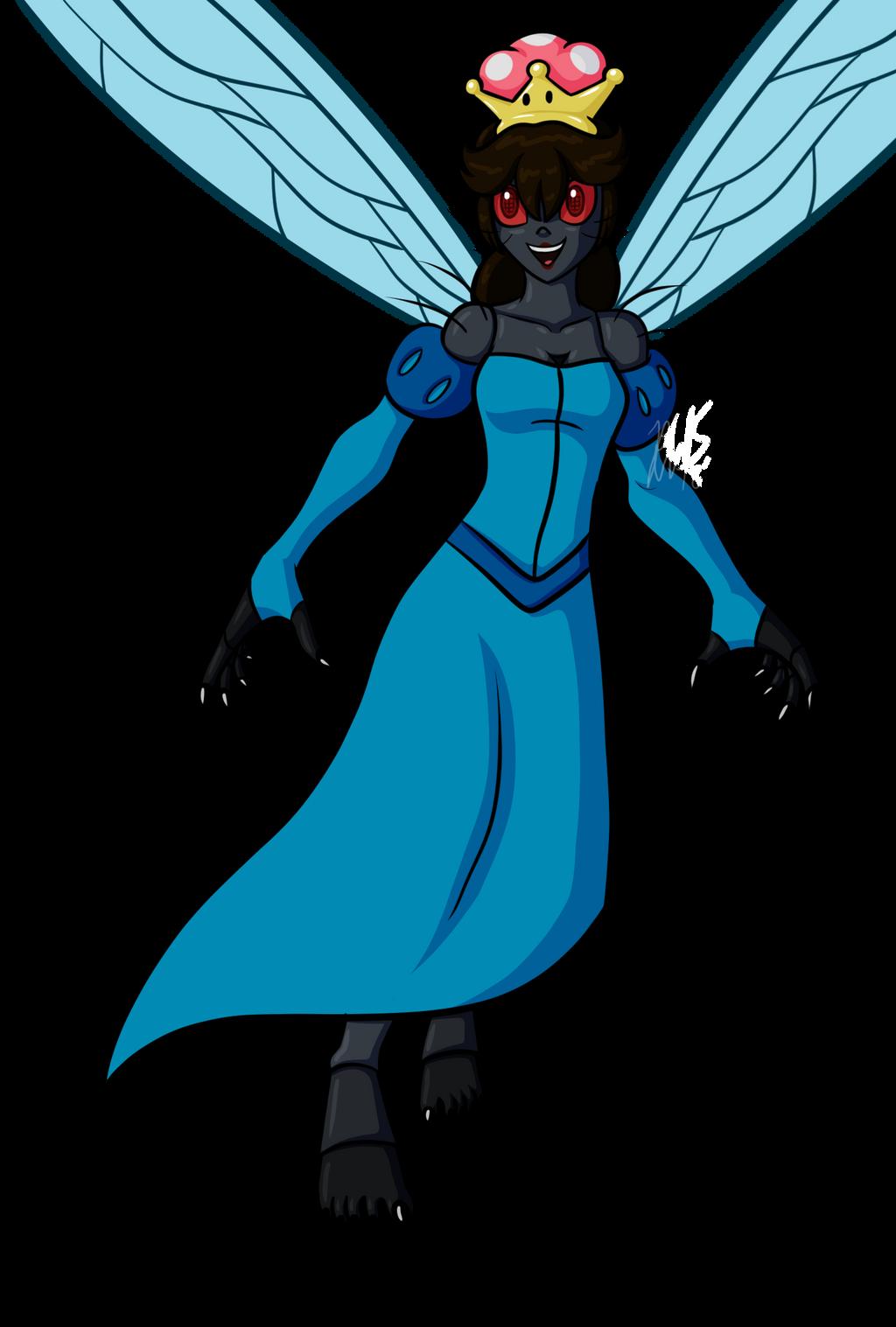 Beware the Fly-Girl by AraghenXD on DeviantArt