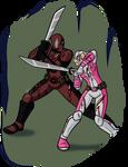 Gwenpool vs Deadpool