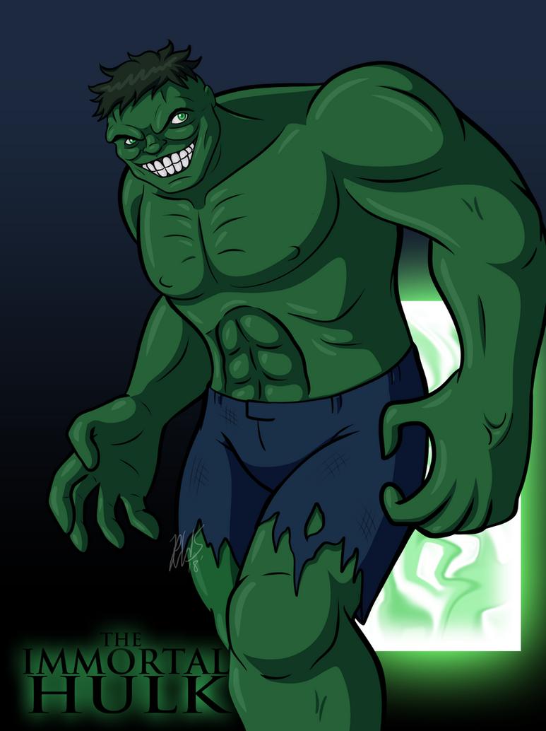The Immortal Hulk II by AraghenXD