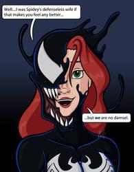 Venomized Mary-Jane 2 by AraghenXD