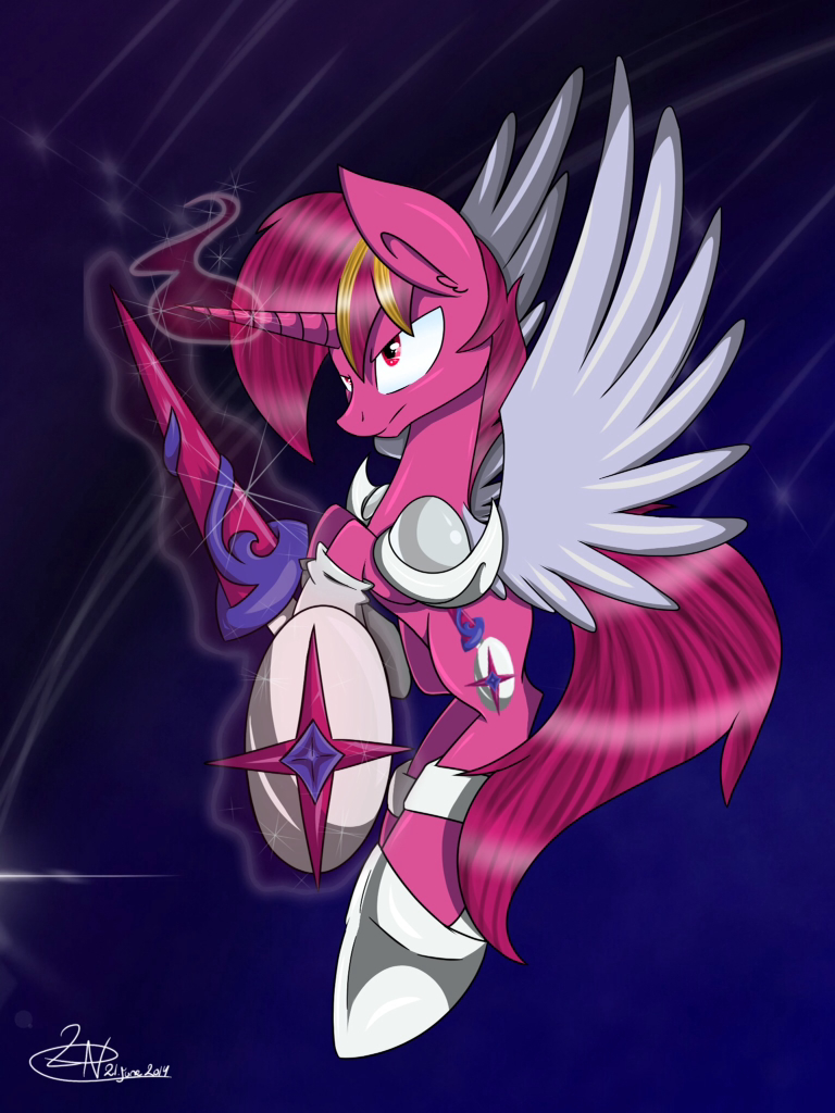 Galacta Knight (ponyfied) by PegasisterMetaLover on DeviantArt