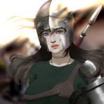 warrior steph by vekdo01