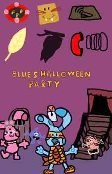 Blues Halloween Party VHS