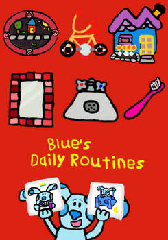 Blue's Daily Routines VHS