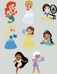 Princess Vectors