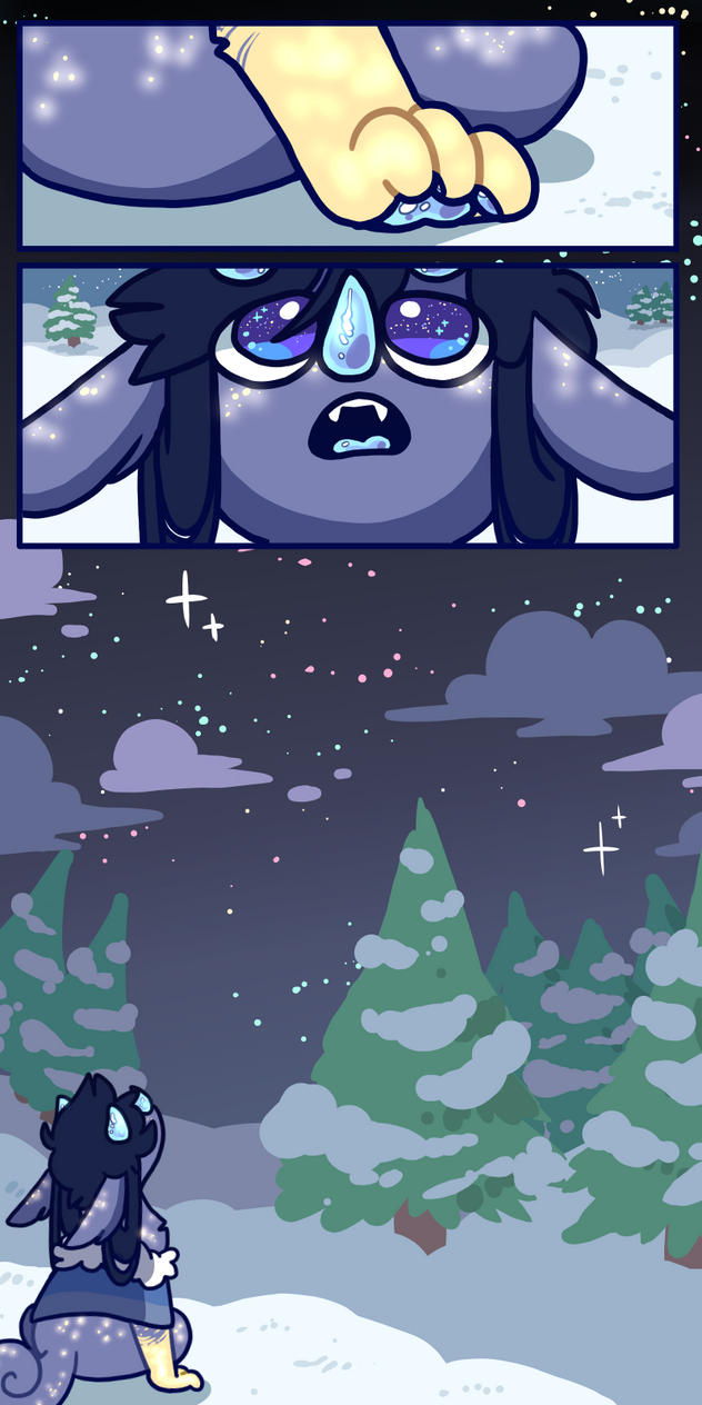 MYO Chimereon Prompt: stargazing by sirfluff-thefluff