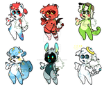 bunch of babs for sale! (flatsale one open!)