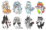 BASE BATCH ADOPTABLES! (CLOSED!)