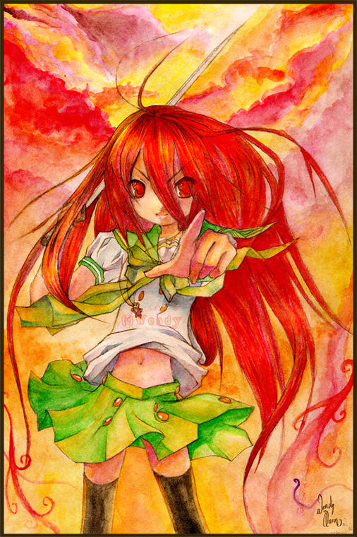 Shakugan no SHANA by chopaface