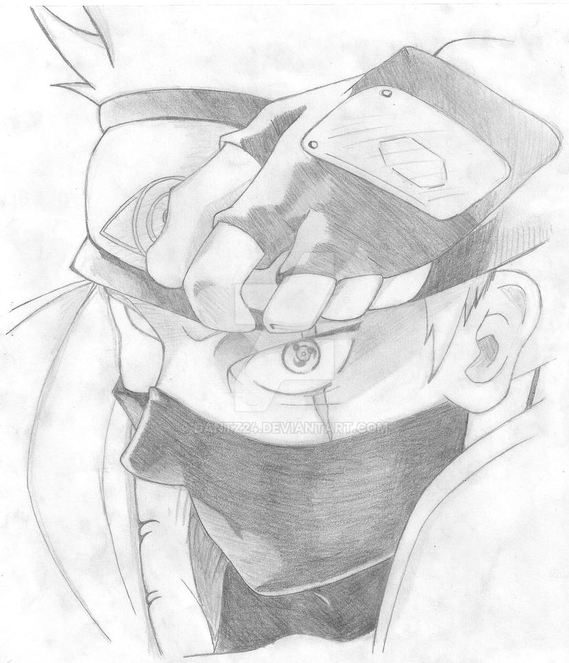 draw kakashi by dantz24