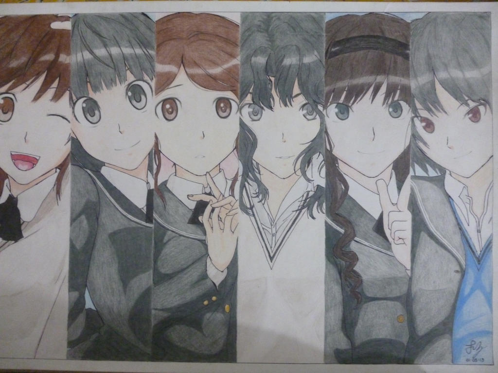 amagami ss anime color by dantz24 on deviantart
