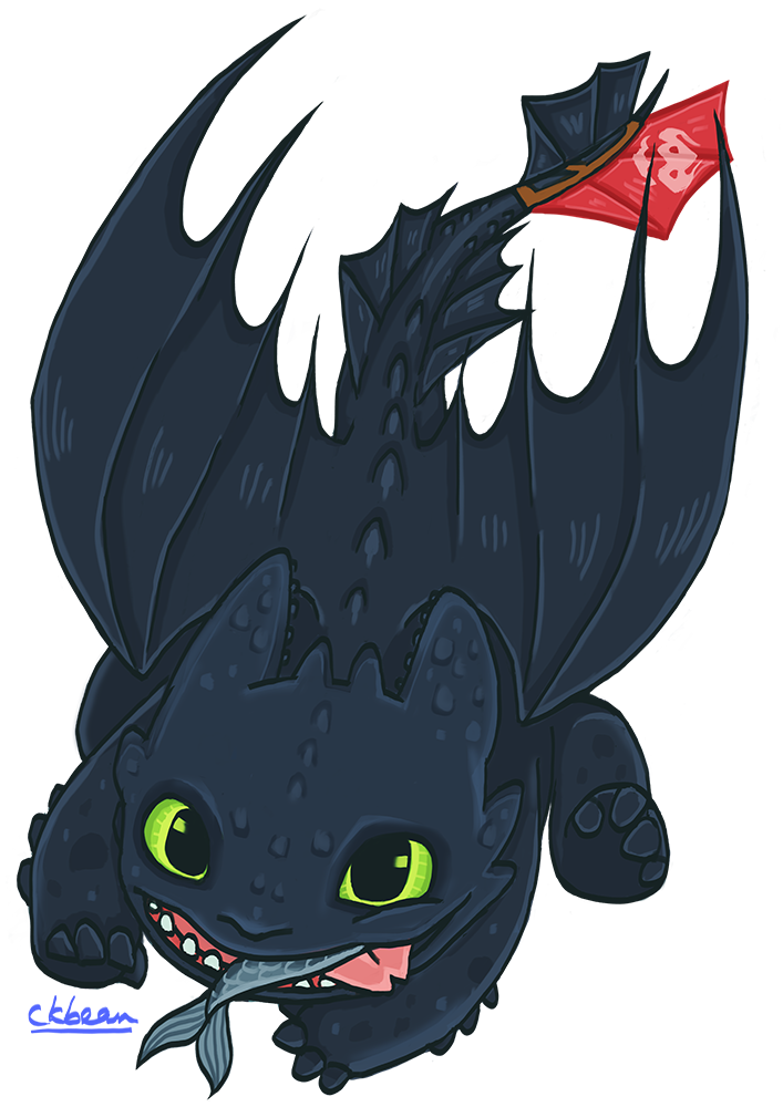 Toothless by BeanPrince