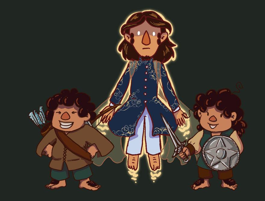 More chosen hobbits
