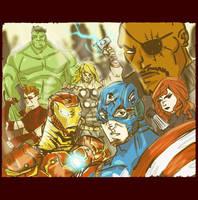 Avengers by tarunbanned