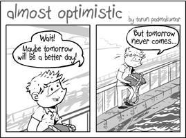 Almost Optimistic Strip