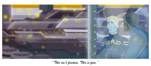 Captain America 2 Fear