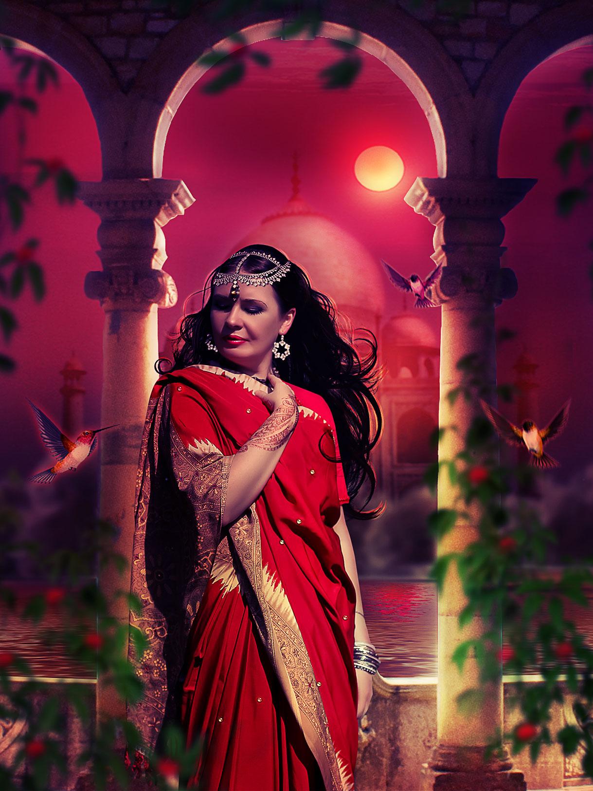 Indian princess by TatyanaHappy
