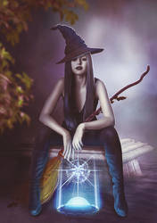 Witch - beauty and magic ... by TatyanaHappy