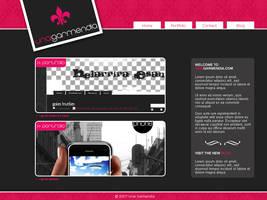 web interface by Hallaserke