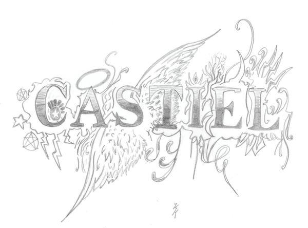 castiel coloring pages - photo#34