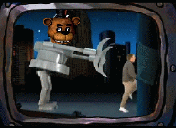 At five together with pizzaria freddy fazbears as well as pizza freddy