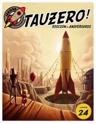 Tau Zero portada by Kaek